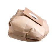 Vaccuum cleaner dust bag Stock Images