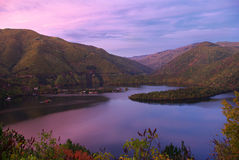 Vacha dam, Bulgaria Royalty Free Stock Images