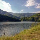 Vacha Dam, Devin Municipality, Bulgaria Royalty Free Stock Photography