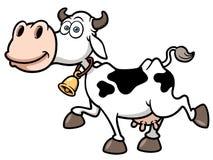 Vache à bande dessinée Image stock