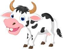 Vache à bande dessinée pour vous conception photographie stock libre de droits