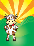 Vache à Boo illustration stock