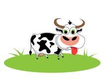 vache à dessin animé Image stock