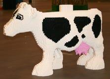 Vache à LEGO Photos stock