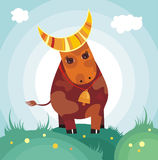 Vache Illustration Stock