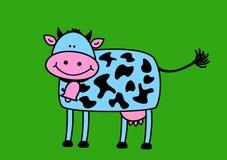 Vache drôle Image stock