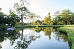 Vachirabenjatas Park (Rot Fai Park) in Thailand Stock Photography