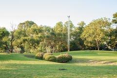 Vachirabenjatas Park (Rot Fai Park) in Thailand Royalty Free Stock Photo
