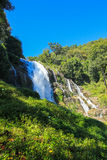 Vachiratharn waterfall. In Thailand Beautiful nature background Royalty Free Stock Photography