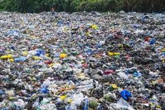 Vaciado de basura Fotografía de archivo