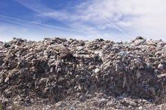Vaciado de basura Imagenes de archivo