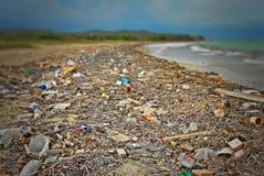 Vaciado de playa Fotografía de archivo