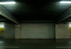Vacie el estacionamiento Imágenes de archivo libres de regalías