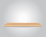 Vacie el estante de madera libre illustration