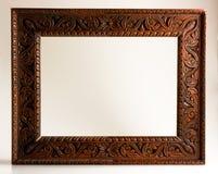 Vacie el marco tallado Fotografía de archivo libre de regalías