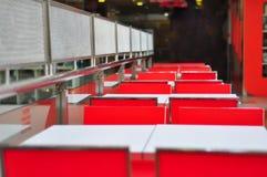 Vacie el restaurante imagenes de archivo