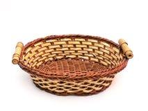 Vacie la cesta Fotografía de archivo libre de regalías