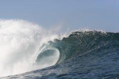 Vacie la onda en la tubería Fotografía de archivo