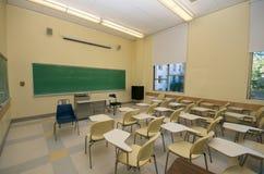 Vacie las salas de clase en universidad Fotografía de archivo