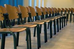 Vacie las sillas de la conferencia Imágenes de archivo libres de regalías