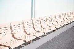 Vacie los asientos del transbordador en fila foto de archivo libre de regalías