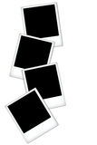 Vacie los espacios en blanco de la polaroid Fotos de archivo libres de regalías