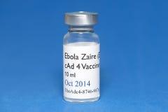 Vacina de Ebola Fotos de Stock Royalty Free