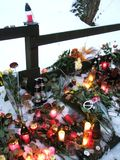 Vaclav Havel´s tribute at his cottage Stock Photos