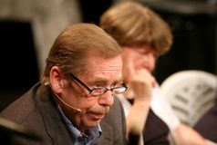 Vaclav Havel Royalty Free Stock Photography