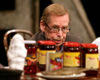Vaclav Havel Stock Photo
