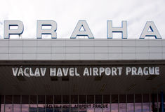 Vaclav Havel Airport Prague Royalty Free Stock Photos