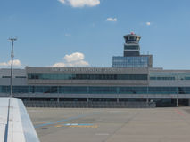 Vaclav Havel airport in Prague Royalty Free Stock Image