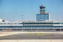 Vaclav Havel Airport Prague, Ruzyne Stock Image