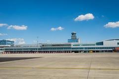 Vaclav Havel flygplats Prague arkivfoto