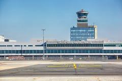Vaclav Havel Lotniskowy Praga, Ruzyne Obraz Stock