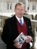 Vaclav Havel på Krakow royaltyfri fotografi