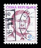 Vaclav Havel (1936-2011), presidente, serie, circa 1993 Fotografia Stock Libera da Diritti