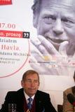 Vaclav Havel przy Krakow Zdjęcie Royalty Free