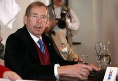 Vaclav Havel przy Krakow Obrazy Royalty Free