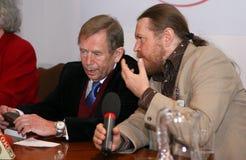 Vaclav Havel przy Krakow Zdjęcia Royalty Free