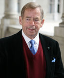 Vaclav Havel przy Krakow Obraz Stock