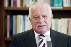 Vaclav Klaus 库存图片