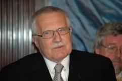 Vaclav Klaus 图库摄影