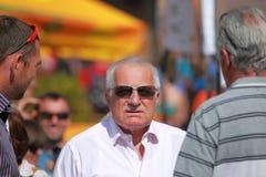 Vaclav Klaus - czech president Stock Photo