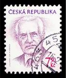 Vaclav Klaus (1941), president, definitiv frågeserie, circa 2005 royaltyfria foton