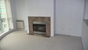 Vacnat Residential Tower Fireplace stock photos