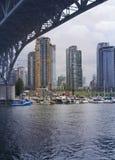 Vacouver, BC port Images libres de droits