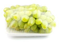 Vacuümverpakte zoete druiven royalty-vrije stock foto