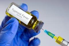 Vacuna de la fiebre tifoidea foto de archivo libre de regalías