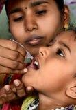 Vacuna oral de la poliomielitis Imagen de archivo libre de regalías
